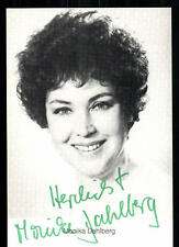 Monika Dahlberg Autogrammkarte Original Signiert ## BC 14524