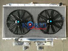 Radiateur Radiator + Fans NISSAN PATROL Safari GU GR Y61 Diesel  2.8L 3.0L Auto