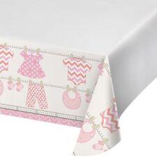 Bundle of Joy Girl Pink Plastic 48 x 88 Tablecover Baby Shower