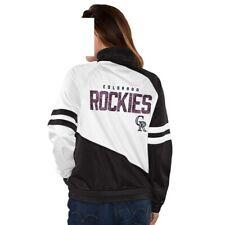 Womens G-III Sports Colorado Rockies Perfect Pitch Track Jacket, Medium, NWT