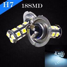 H7 LED Chip 18 SMD Xenon White 6000K Light Bulb For KAWASAKI Bike Motorcycle