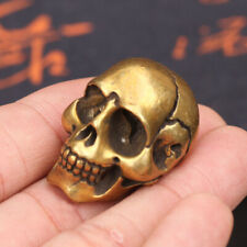 Copper Solid Skull Pendant with Decorative Buckle Between One Thought
