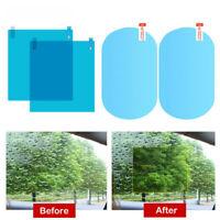 For Car Rearview Mirror Rainproof Anti-Fog Rain-Proof Film Sticker Waterproof 4X