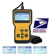 Car Engine Fault Code Reader Diagnostic Scanner Tool OBD OBD2 EOBD OBDII US SHIP