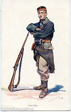 DAN . BURNAND . WW1 .  SOLDAT BELGE . BELGIAN SOLDIER . PARFUM LE LILAS