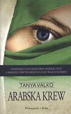 Arabska krew, Tanya Valko, polish book