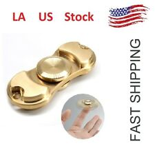 RoseGold Gold Silve Hand Fidget Brass Copper Metal Spinner Focus Toy EDC Torqbar