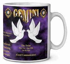 Gemini Star Sign Birthday Gift Coffee/Tea Mug Christmas Stocking Filler, ZOD-3MG