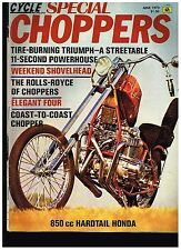 MCW SPECIAL CHOPPERS JUNE 1973 SEE CONTENTS CUSTOM STREET CHOPPERS TECH TIPS