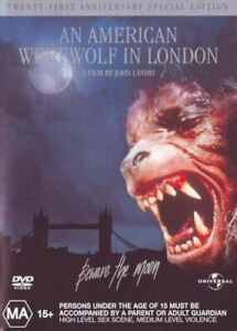 NEW An American Werewolf in London (21st Anniversary Special Edition) DVD