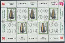 Autriche 2414 Feuille miniature oblitéré 2003 wagons postaux (8162398