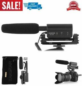micrófono de entrevista grabación alta calidad para Nikon Canon DV videocámara