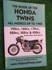 BOOK OF THE HONDA C92 CB92 C95 CB160 CD175 C72 C77 CB72 CB77 CB450 MANUAL >1968