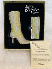 Just The Right Shoe By Raine Perfectly Python Collector Set