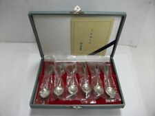 Ando Cloisonne store Set of 6 spoons. Enamel. #89g/ 3.13oz. Japanese antique
