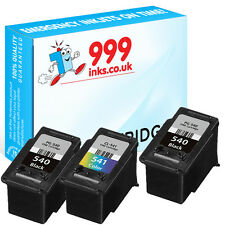 3 PG-540XL and CL-541XL Remanufactured Printer ink for Canon Pixma MG4200 MG3650