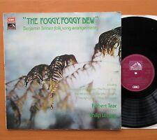 HQS 1341 The Foggy Foggy Dew Britten Folk Songs Robert Tear 1975 EX/VG