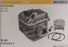 11290201202 CYLINDER AND PISTON COMPLETE CHAINSAW STIHL MS200 MS200T Ø 40