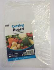 Thin Clear Flexible Plastic Kitchen Cutting Board  size 34 x25