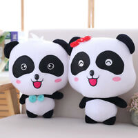 Cute Baby Bus Panda Plush Figure Soft Toy Stuffed Animal Doll For Kids Xmas Gift