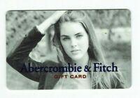 Abercrombie & Fitch Gift Card - Girl with Long Hair - No Value - I Combine Ship