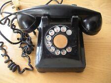 Vintage Black Western Electric Rotary Phone Telephone