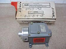 CCS DUAL-SNAP 604DM1 DIFFERENTIAL SWITCH, #14931J NIB