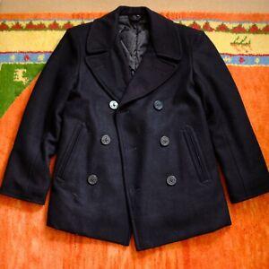 Genuine Pea Coat US Navy Size 34-36