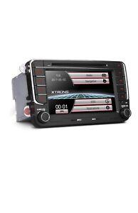 XTRONS PF73MTV  7 Inch Car Stereo Radio HD Digital Touch Screen