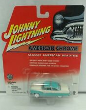 2001 JOHNNY LIGHTNING 1955 FORD CROWN VICTORIA AMERICAN CHROME Baby Blue Rare