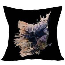 Colourful Linen Pillowcase Cushion Cover Textiles Bedroom Animal Pillow Case Li