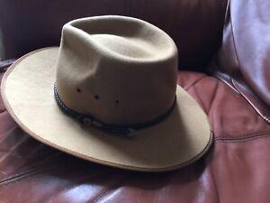 Fallenbrokenstreet Millinery CustomMade Size S/M 100% Australian Bush Wool Hat