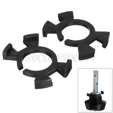2x H1 LED Headlight Holder Adapter For Honda Prelude CR-V Odyssey Acura RSX