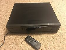Kenwood 104CD 1Bit Dual D/a Converter 5 Compact Disc Multiple 5 CD Player Works