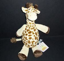 "13"" NEW Bunny By The Bay Giraffe Plush Stuffed Animal Lovey Toy"