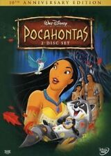 Like New DVD Pocahontas (Two-Disc 10th Anniversary Edition) 1995  DISNEY CLASSIC