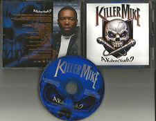 KILLER MIKE Akshon Yeah w/ CLEAN & INSTRUMENTAL PROMO DJ CD single Action 2002