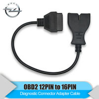 12 Pin to OBD1 OBD2 16 Pin Convertor Adapter Cable For GM Diagnostic Scanner Car