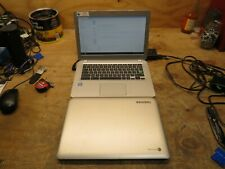 LOT OF 2 Toshiba Chromebook CB30-A3120 Intel Celeron 2955U 11.40ghz NO chargers
