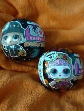 LOL Surprise Doll Spooky Sparkle Halloween Limited Edition Set Of 2 Brand New