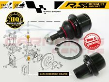 FOR RENAULT CLIO 197 200 MEGANE MK3 RS SPORT TOP AND BOTTOM HUB BALL JOINT PIVOT