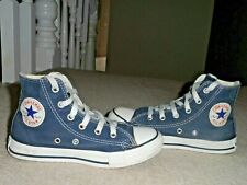 CONVERSE ALL STAR JUNIOR YOUTH KIDS HIGH TOP BLUE TRAINERS BOOTS UK 13 EUR 31.5