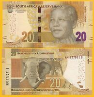 South Africa 20 Rand p-139b 2015 UNC Banknote