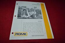 Caterpillar Rome Feller Buncher Dealers Brochure BWPA ver4