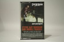 Stevie Ray Vaughn y Trouble- Couldn'T Stand The Weather- Cinta de Cassette