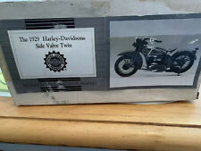 1929-Harley-Davidson Side Valve Twin Franklin Mint New In Box