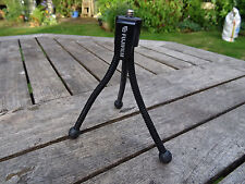 Fujifilm Small Flexible BlacK Camera Tripod Fits  FinePix XP150 & Real 3D W3 etc
