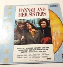 HANNAH AND HER SISTERS Laserdisc 102 min Dutch Subtitles