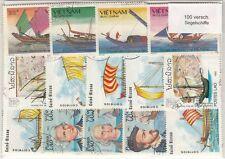 100 verschiedene Briefmarken  Segelschiffe , Segeln , Wikingerschiff
