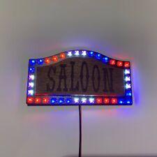 Saloon Schriftzug für Faller 140475 Kirmes SMD RGB LED Lauflicht 1:87 H0